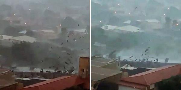 Viralizou: vídeo de mulher narrando tempestade em baianês