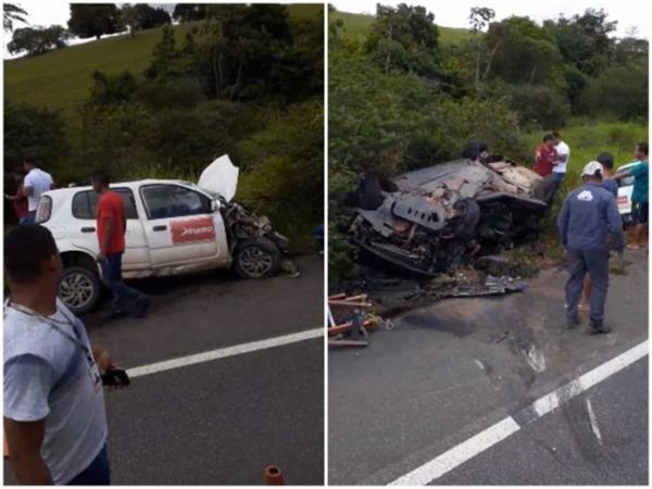 Duas pessoas morrem e quatro ficam feridas após colisão entre veículos na BR-101