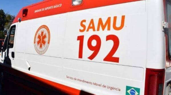 Gandu: Homem é socorrido pelo Samu após desmaio no Centro