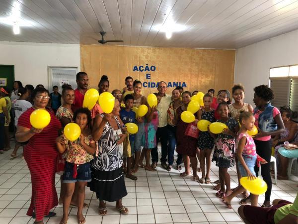 Teolândia: Projeto Ação e Cidadania realizou mais de 1000 atendimentos no sábado (08).