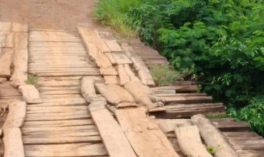 Leitor denuncia ponte em estado precário e alega transtornos para moradores de Valença