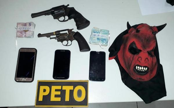 Final de semana com assaltos, roubos e dois bandidos mortos  em Gandu
