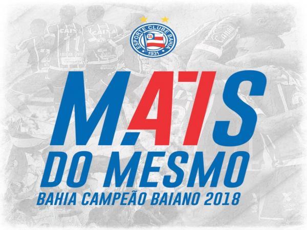 Bahia ganha para o Vitória e conquista o Baiano 2018