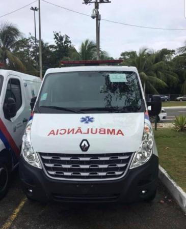 Teolândia: Prefeito Lázaro Andrade recebe uma Ambulância Van 0KM para o município.