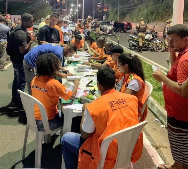 Operação de Carnaval do Detran faz 4,2 mil abordagens e recupera veículo roubado