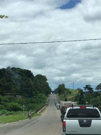 Nazaré: Semáforo gera congestionamento de cerca de 15 km na BA-046