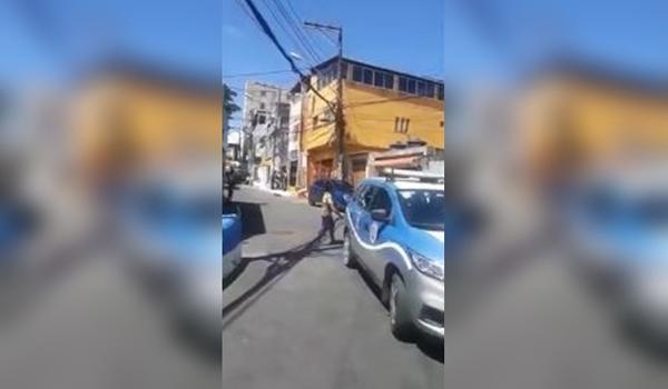 Bandidos se organizam em grupo para invadir delegacia no Nordeste de Amaralina e polícia entra em alerta