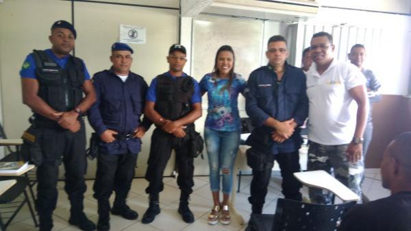 Prefeitura de Gandu apoia guardas municipais em curso de capacitação.