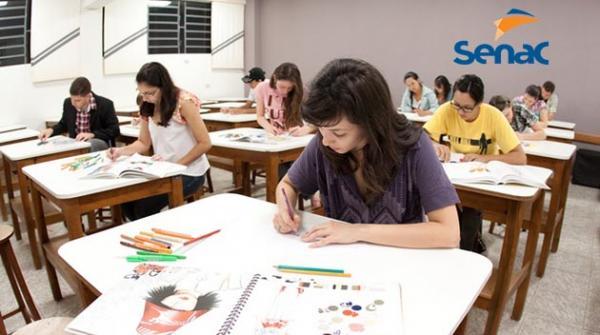 Senac inscreve para 5 mil vagas de cursos profissionalizantes