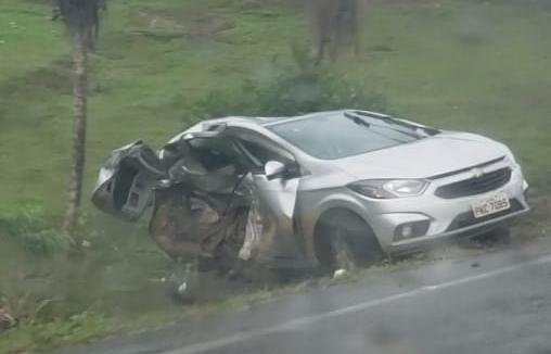 Servidor Público de Wenceslau Guimarães morre em acidente de carro na BR-101