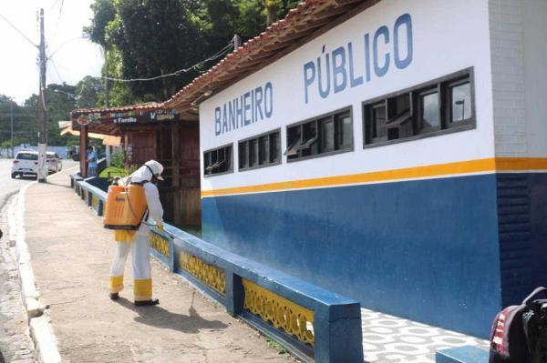 Gandu: Prefeitura realiza higienização de espaços públicos como medida preventiva