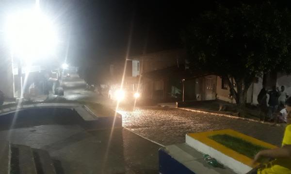 Jovem é baleado no bairro birreiro em Gandu