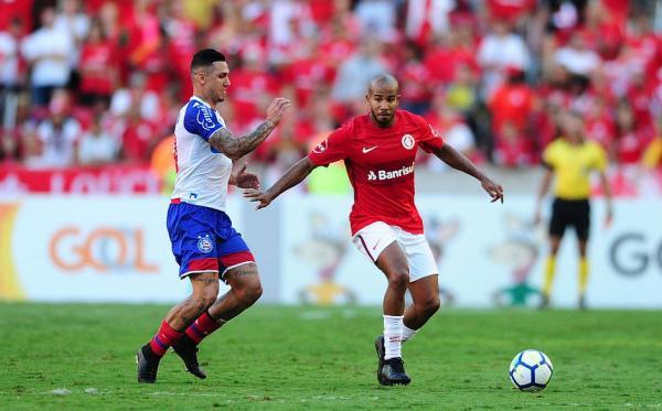 Bahia estreia na Séria A com derrota por 2X0 para o Internacional