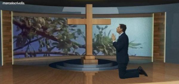 Covid-19: Crivella faz oração de joelhos em vídeo e pede a Deus 'que essa doença vá embora'