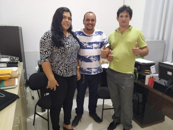 Vereadora e presidente da Câmara de Nova Ibiá filiam-se ao PP; juntos vão apoiar Aldo Parceiro