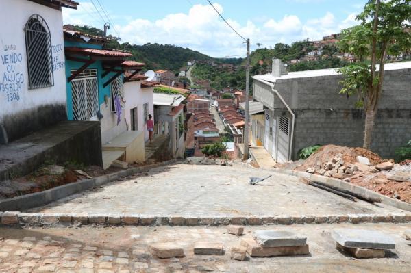 Teolândia: Obras de e pavimentação e Drenagem do Bairro Cara Nova estão a todo vapor