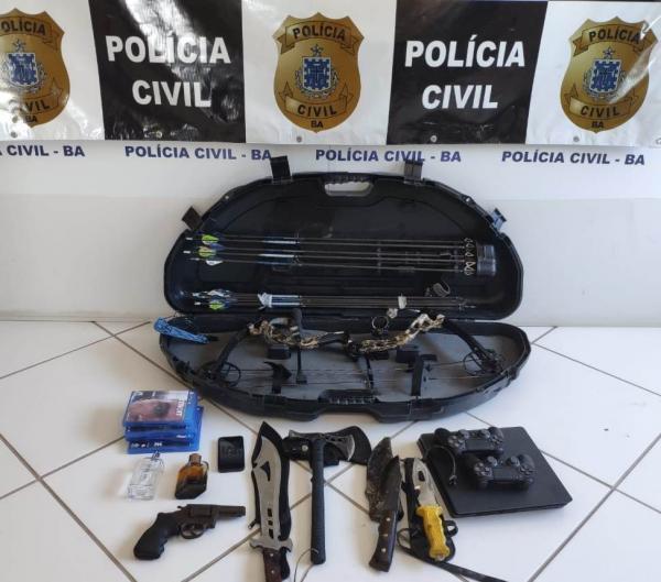 Adolescente suspeito de homicídio é apreendido, em Vera Cruz
