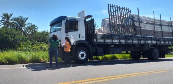 Covid-19: Segunda Igreja Batista em Valença distribui alimento e solidariedade para caminhoneiros na BR-101