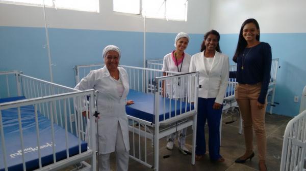 Prefeitura de Gandu adquire novos leitos para o Hospital João Batista Assis.