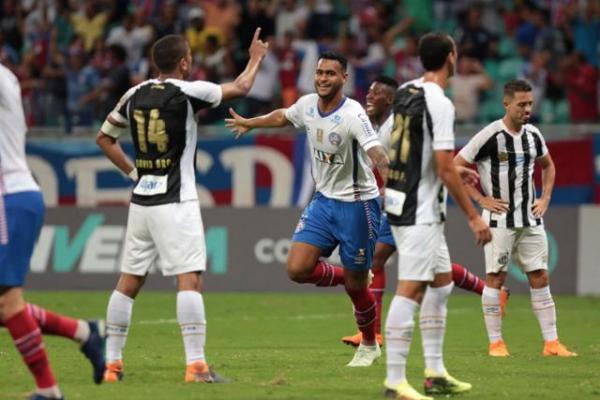 Bahia vence com gol de Brumado nos acréscimos; melhores momentos.