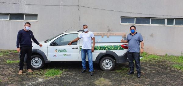Teolândia: Prefeitura recebe Kit para fortalecimento da agricultura familiar.