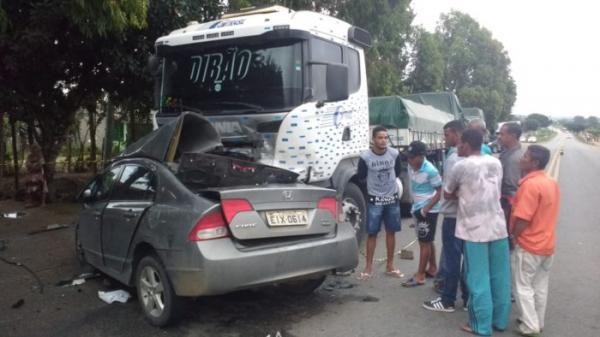 Acidente na BA-250, no Entroncamento de Jaguaquara com vítima fatal.