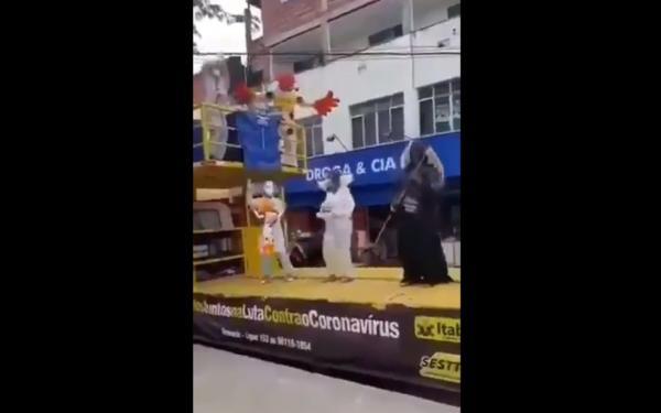 Vídeo: Anjo da ´morte` circula em Itabuna; entenda.
