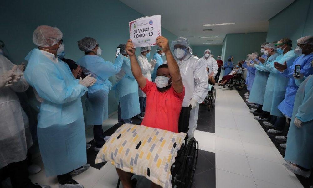 Brasil ocupa o primeiro lugar do mundo em número de recuperados do covid-19