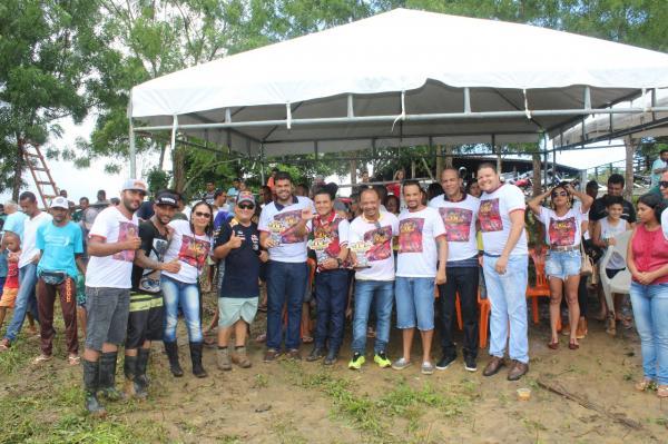 Prefeito de Gandu e secretários participam do 4º Campeonato de Motocross realizado neste domingo.