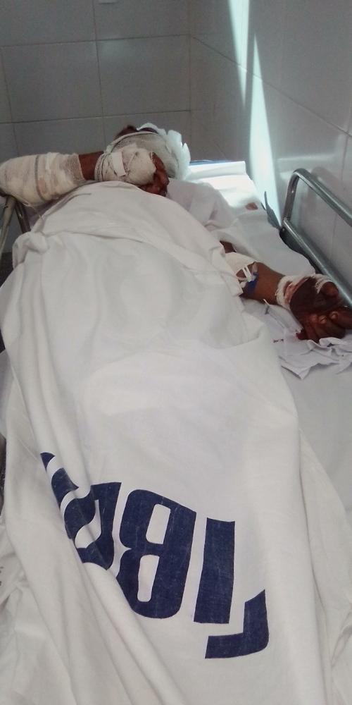 Homem ferido com golpe de facão durante briga recebe alta do hospital