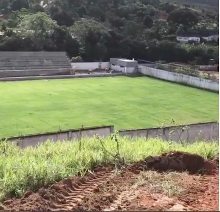 Wenceslau Guimarães: Estádio Municipal está em fase de conclusão das obras