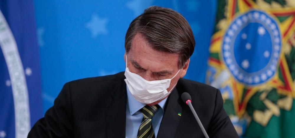 Presidente Bolsonaro está com Covid-19