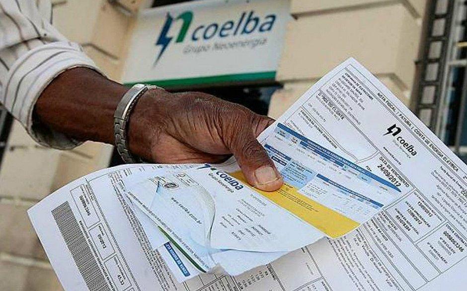 Coelba oferece R$ 35 de desconto para quem pagar no crédito ou auxílio emergencial