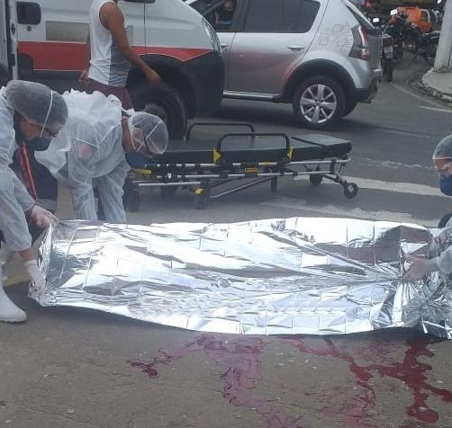 Homem assassinado no Centro de Itabuna