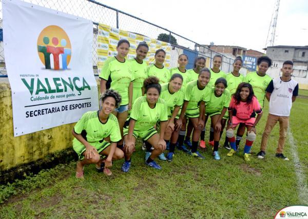 Prefeitura de Valença realiza torneio de Futebol feminino.