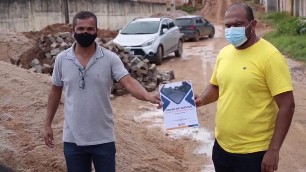 A ação vai atender a uma demanda antiga dos moradores e sanar os problemas ocasionados durante o período chuvoso.