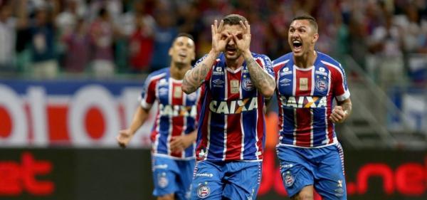 Bahia vence o Vasco por 3 a 0 na Copa do Brasil