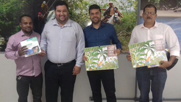 Prefeito de Gandu e Secretário de Agricultura participam de audiências em Salvador, em busca de investimentos para o município.