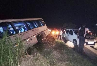 BR 101: Universitários de Ibirapitanga, Ipiaú e Ibirataia sofrem acidente
