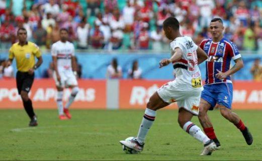 Bahia empata com São Paulo