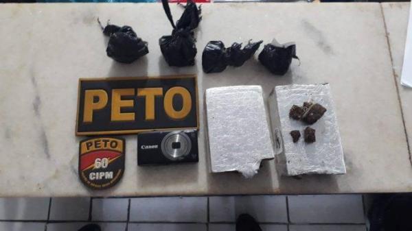 60ª CIPM em Gandu apreende drogas durante operação na BR-101