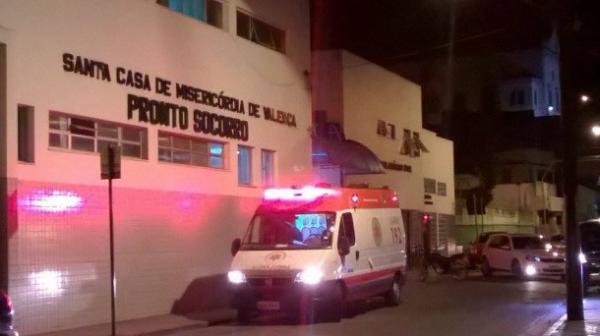 Bebê de um mês é baleado em Valença.