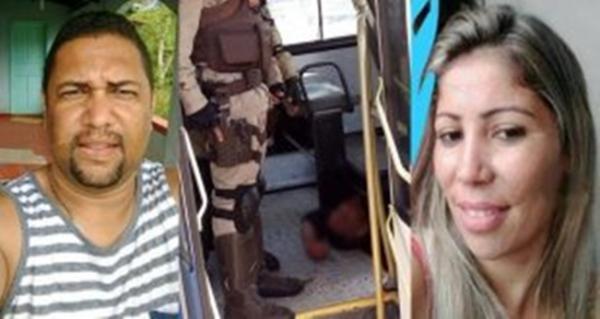 Homem atira na ex-esposa dentro de ônibus, depois comete suicídio em Itabuna