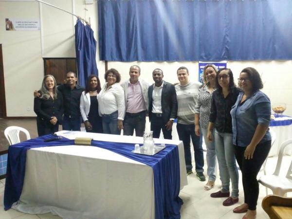 """Secretaria Municipal da Educação de Gandu realiza aula inaugural do projeto """"Universidade para Todos""""."""