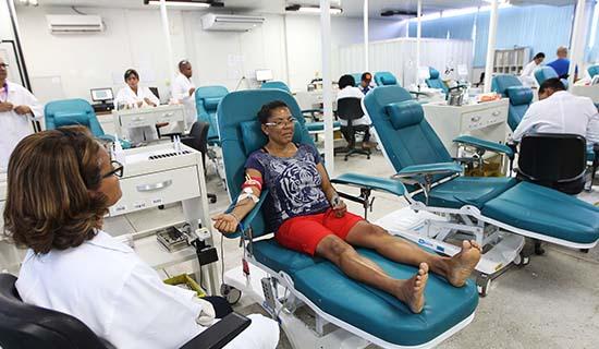 Após festejos juninos, Hemoba reforça necessidade de doação de sangue.