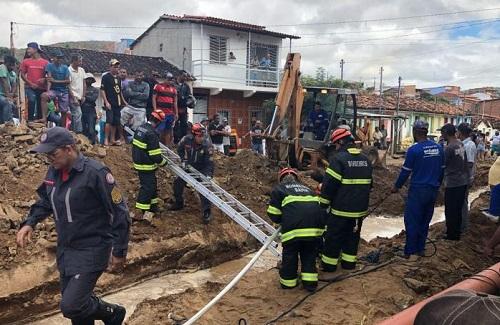 Operário morre afogado em obra da embasa em Jequié.