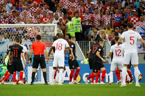 Croácia vence a Inglaterra e está na final da Copa pela primeira vez.