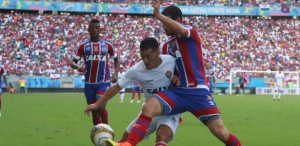 Bahia goleia o Vitória e deixa a zona de rebaixamento.