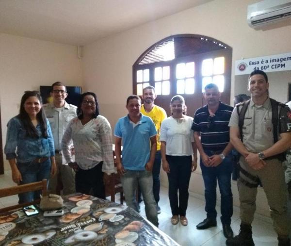 CIPM de Gandu e Secretárias de Educação firma parceria.