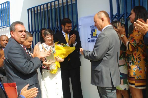 Homenagens e inauguração marcam a festa de 60 anos de Gandu.